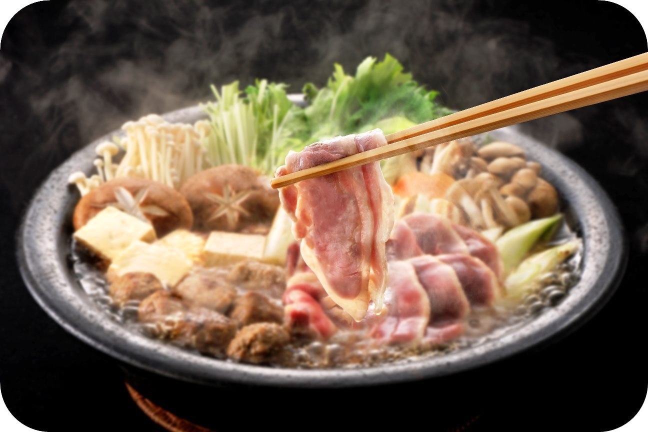 薩摩黒鴨鍋Aセット(3〜4人前)